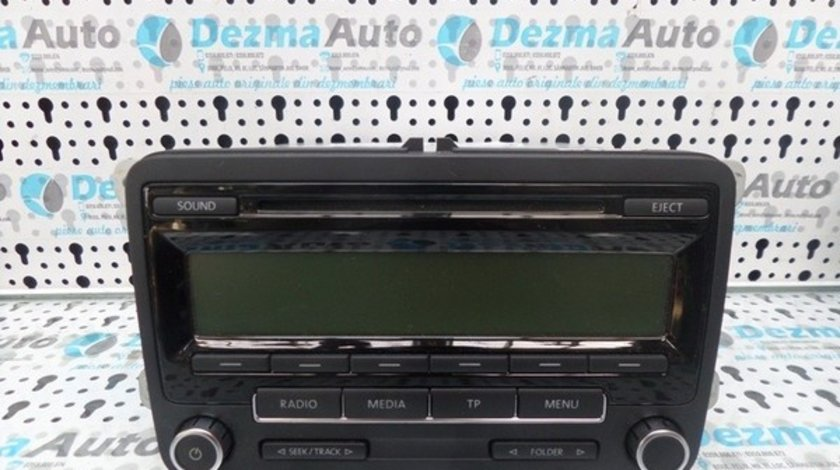 Radio cd 5M0035186AA, Volkswagen Golf 6 (id:173341)