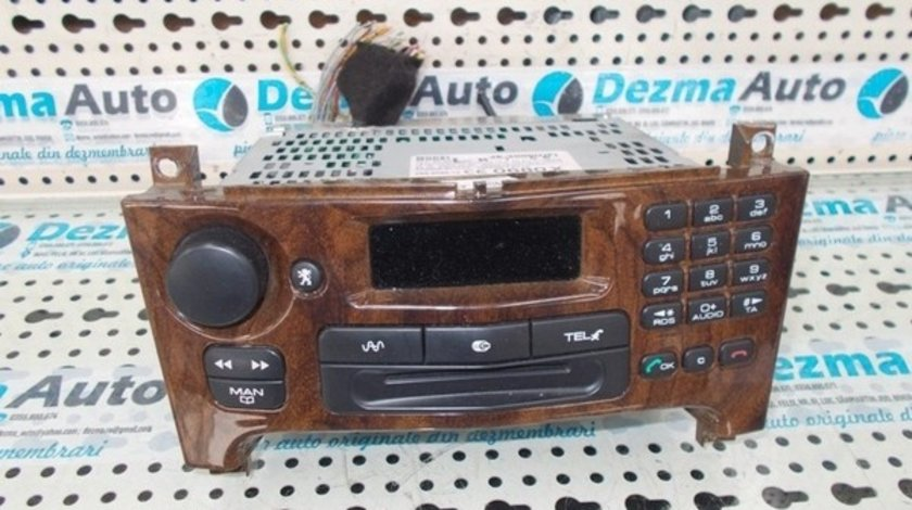 Radio cd 96426673GU, Peugeot 607, 2000-In prezent
