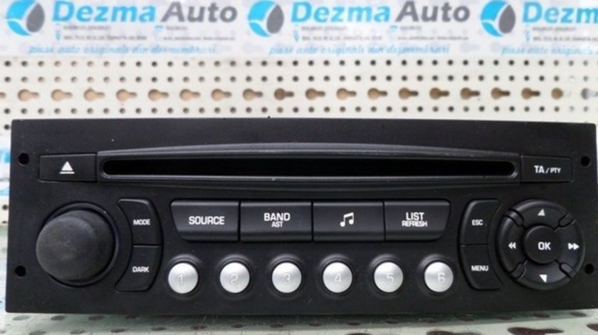 Radio cd 96643697XT, Peugeot 207 SW, 2007-2012