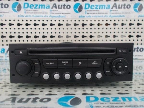 Radio cd 9664769677, Citroen C4, 2004-2008