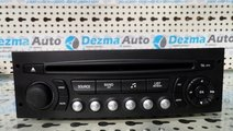 Radio CD 96662670XT, Citroen C4 Picasso, 2007-In p...
