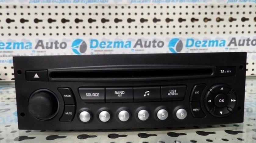 Radio CD 96662670XT, Citroen C4 Picasso, 2007-In prezent