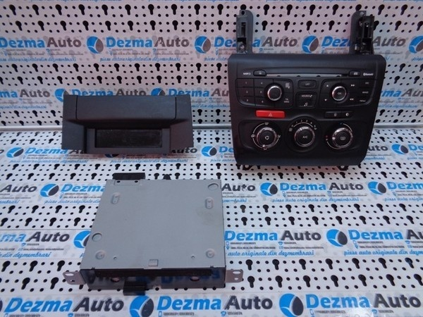 Radio CD 966994780, 9666027177 Citroen C4