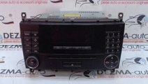 Radio cd, A2038705089, Mercedes Clasa C coupe (CL2...