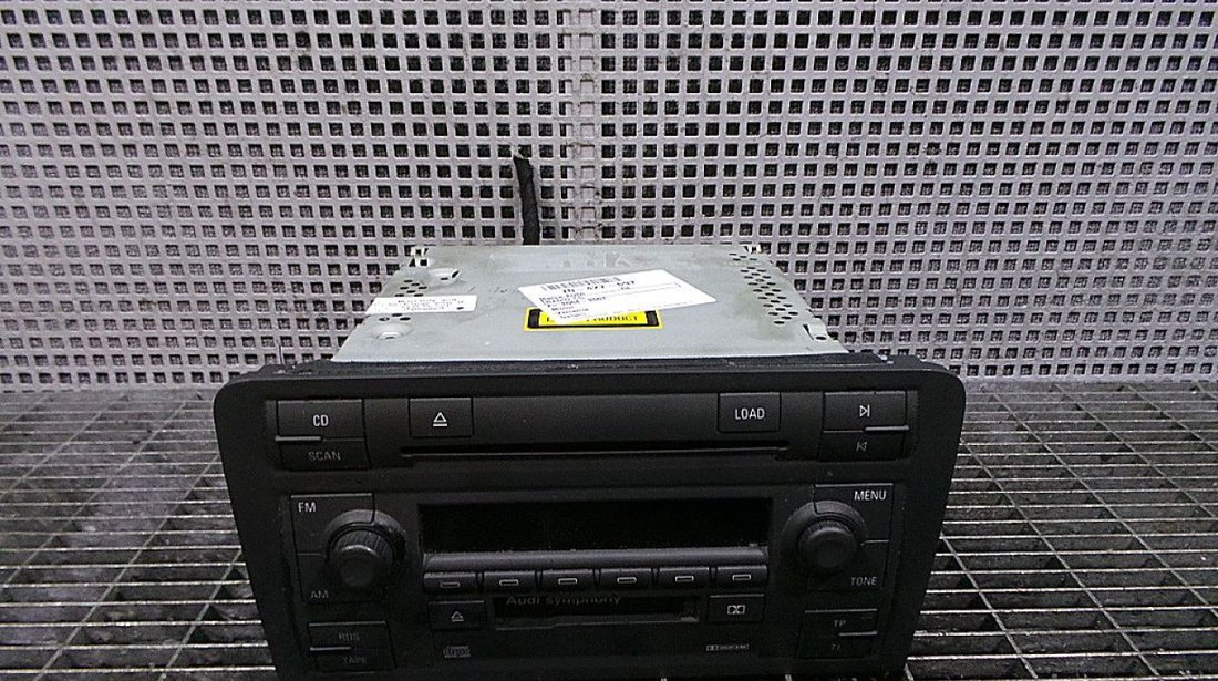 RADIO CD AUDI A3 --- (2004 - 2007)