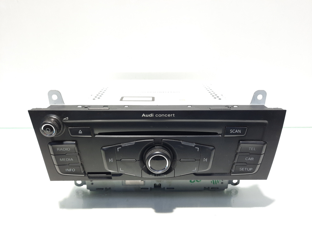 Radio cd, Audi A4 (8K2, B8) [Fabr 2008-2015] 8T1035186P