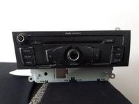 Radio CD Audi A4 A5 b8 2008 8T1035186B  Dezmembrez Audi A4 b8 2.7 TDI