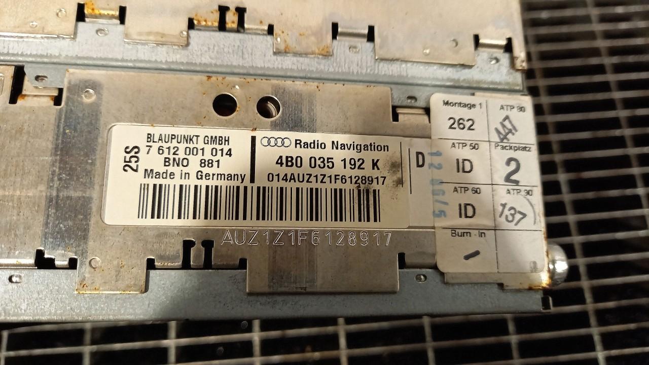 RADIO CD AUDI A6 A6 - (2001 2004)
