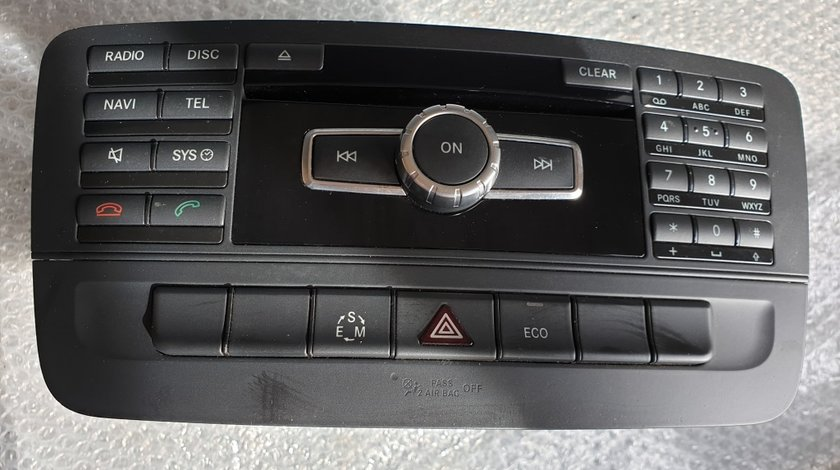 Radio cd auto mercedes b-class w246 a2469000112