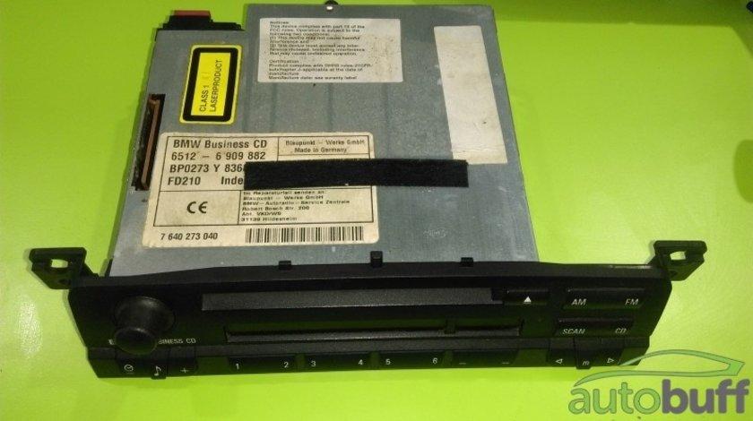 Radio CD BMW Seria 3 (E46; 1997–2006) orice motorizare 6909882 6512-6 909 882 65126909882