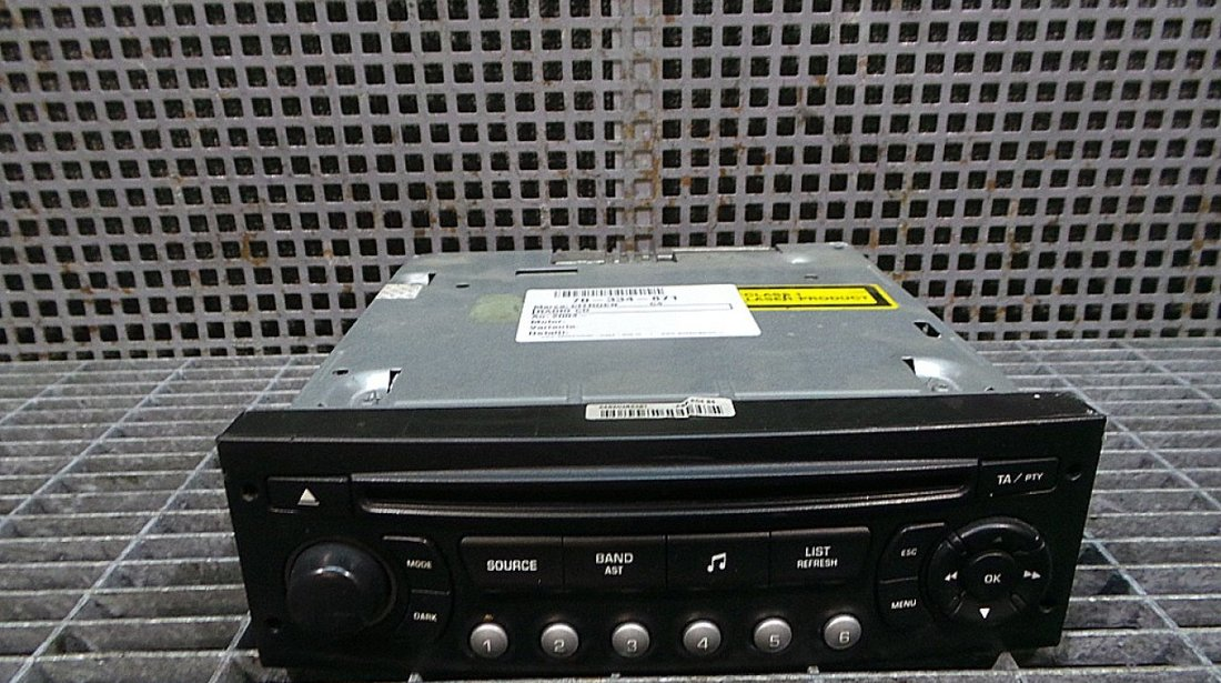 RADIO CD CITROEN C4 C4 - (2004 None)