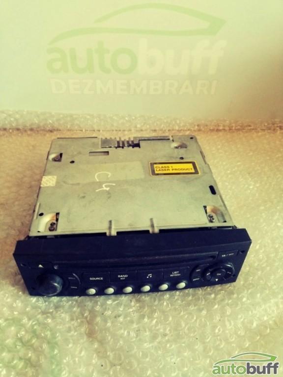 Radio CD Citroen C4 I (2004-2010) + 407 9659138977, 7645137392, 8634360613, 96 591 38