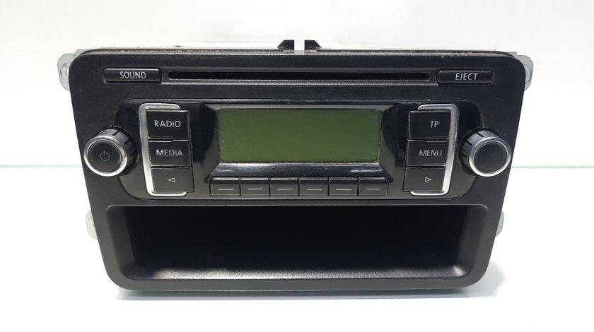 Radio CD, cod 1K0035156B, VW Golf 6 Cabriolet (517)