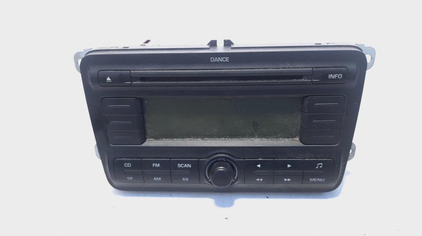 Radio CD, cod 5J0035161A, Skoda Fabia 2 Combi (5J, 545) (id:496125)