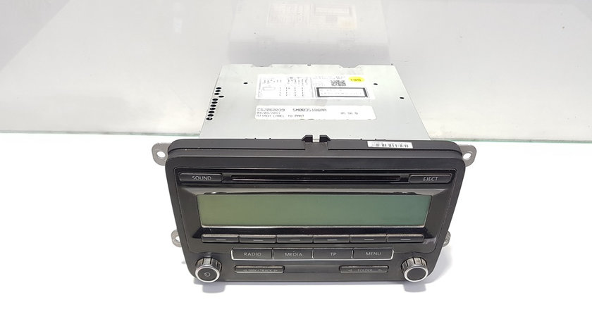 Radio cd, cod 5M0035186AA, Vw Golf 6 (5K1)