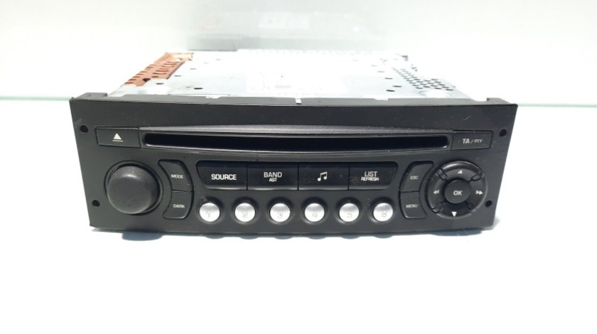 Radio CD, cod 96639793XT, Citroen C2 (JM)