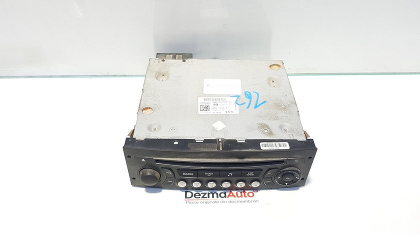 Radio cd, cod 98016070XT, Peugeot Expert (II) 1.6 hdi, 9HP