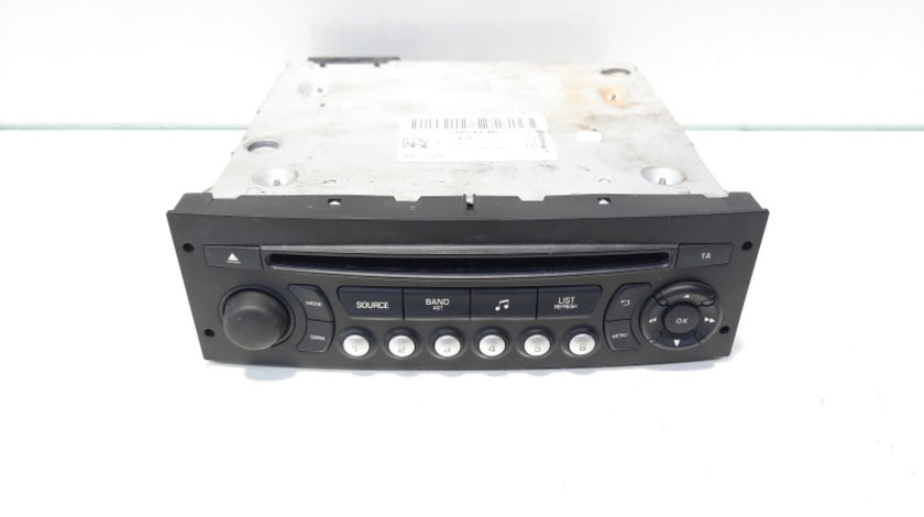 Radio CD, cod 98053736XT, Citroen C3 (II) (id:467188)