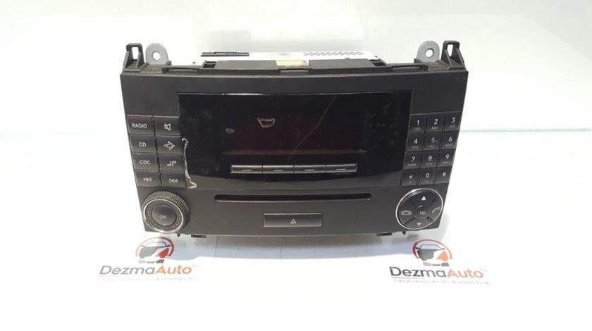 Radio CD, cod A1698700609, Mercedes Clasa B (W245)