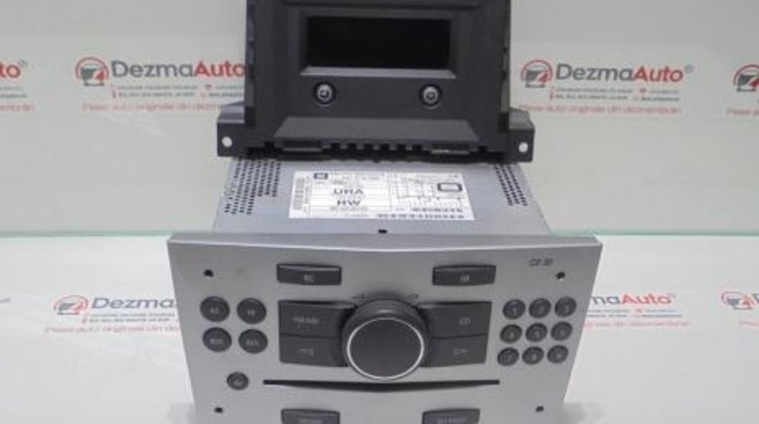 Radio cd cu display bord GM13357117, Opel Astra H combi