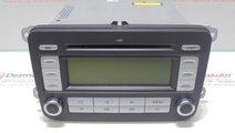 Radio cd cu mp3, 1K0035186AD, Vw Golf 5 Plus,1.9td...