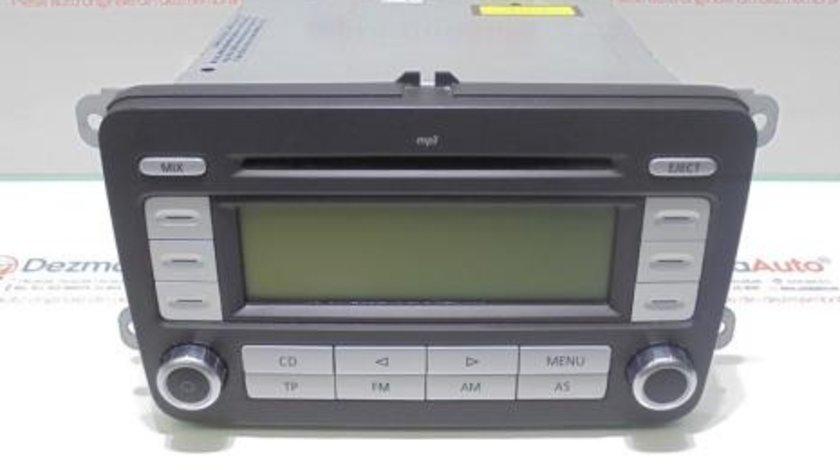 Radio cd cu mp3, 1K0035186AD, Vw Golf 5 Plus,1.9tdi