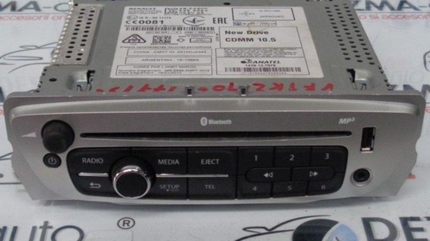 Radio cd cu mp3, 281159184R, Renault Megane 3 hatchback (BZ)