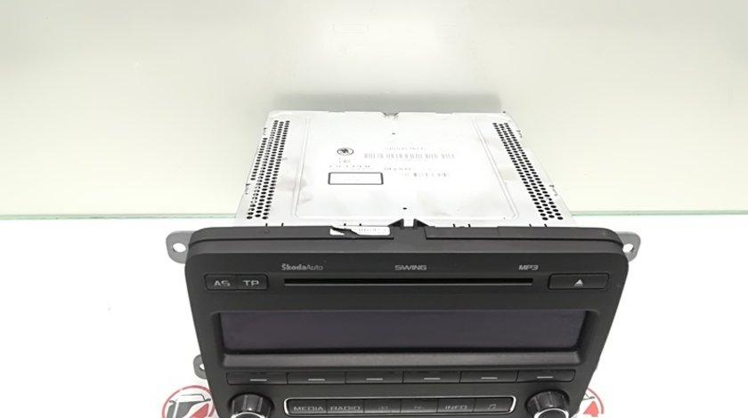Radio cd cu mp3 5J0035161C, Skoda Roomster (5J) (id:345072)