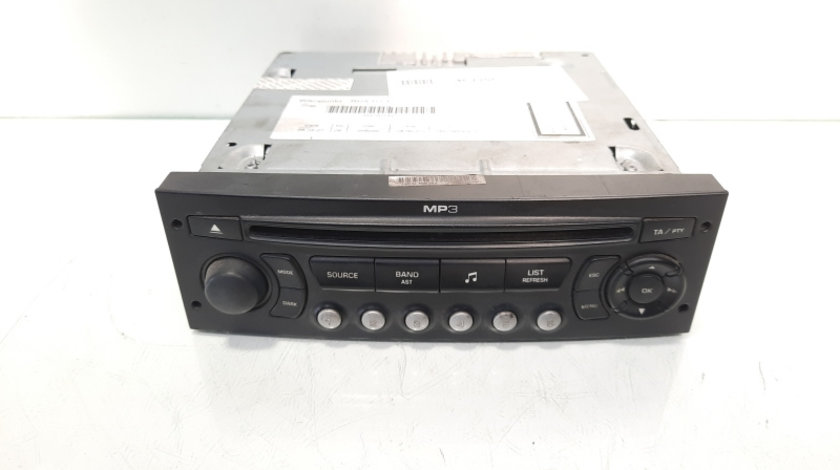 Radio CD cu mp3, cod 9662925977, Peugeot 307 SW (idi:467206)