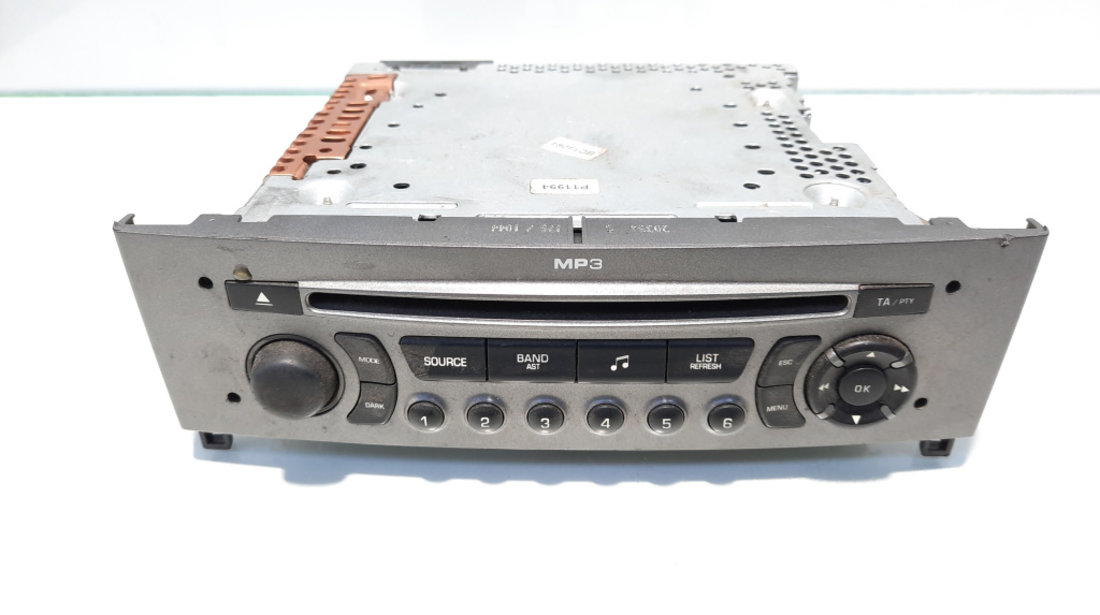 Radio CD cu mp3, cod 96650206XH, Peugeot 308 SW