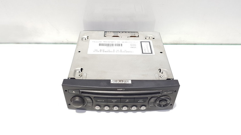 Radio cd cu mp3, cod 9666393777, Peugeot 5008