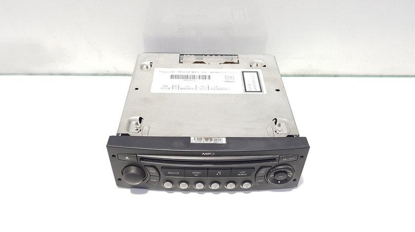 Radio cd cu mp3, cod 9666393777, Peugeot Partner (II) Tepee