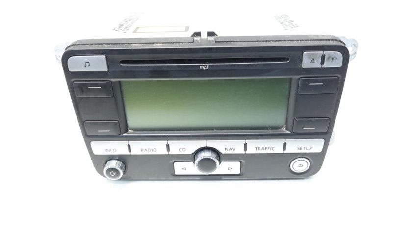 Radio CD cu MP3 si navigatie, cod 1K0035191D, VW Golf 5 Plus (5M1) (idi:467162)