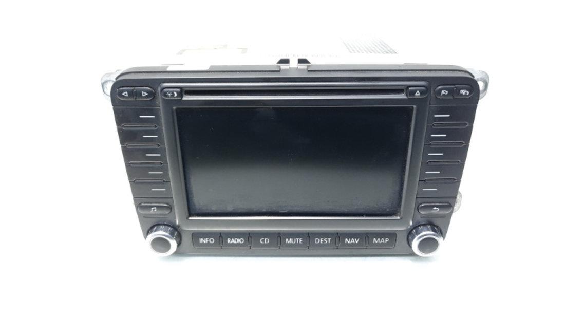 Radio CD cu MP3 si navigatie, cod 1K0035198B, VW Passat (3C2) (idi:467159)