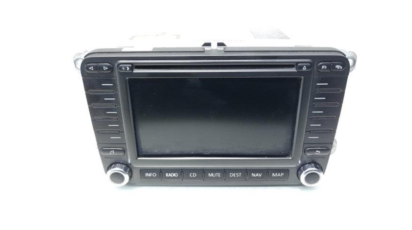 Radio CD cu MP3 si navigatie, cod 1K0035198B, VW Golf 5 Plus (5M1) (idi:467159)
