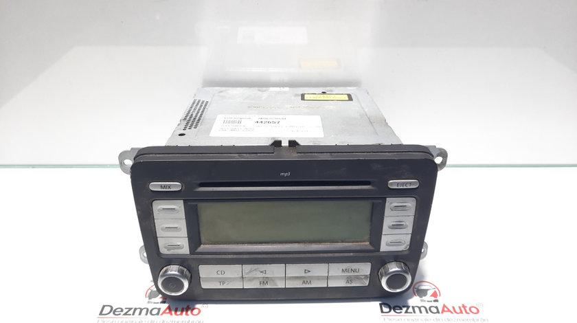 Radio cd cu mp3, Vw Golf 5 Variant (1K5) [Fabr 2007-2009] 1K0035186AF