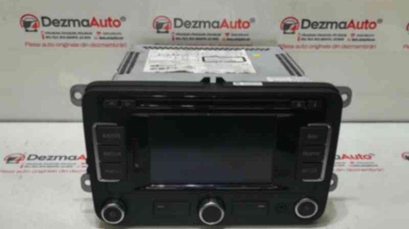 Radio cd cu navigatie, 5P0035191G, Seat Altea XL (5P5, 5P8)