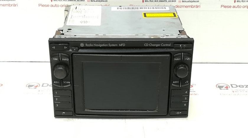 Radio CD cu navigatie, cod 3B0035191D, VW Golf 4 (1J1) (idi:313478)