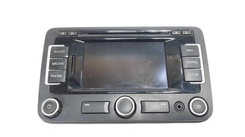 Radio CD cu navigatie, cod 3C0035279, VW Golf 6 Variant (AJ5) (idi:488704)