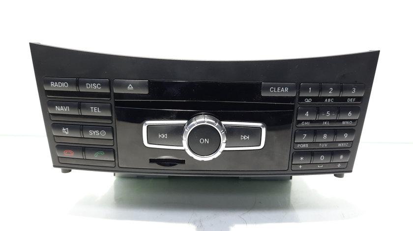 Radio CD cu navigatie, cod A2129005325, Mercedes Clasa E (W212) (id:458525)