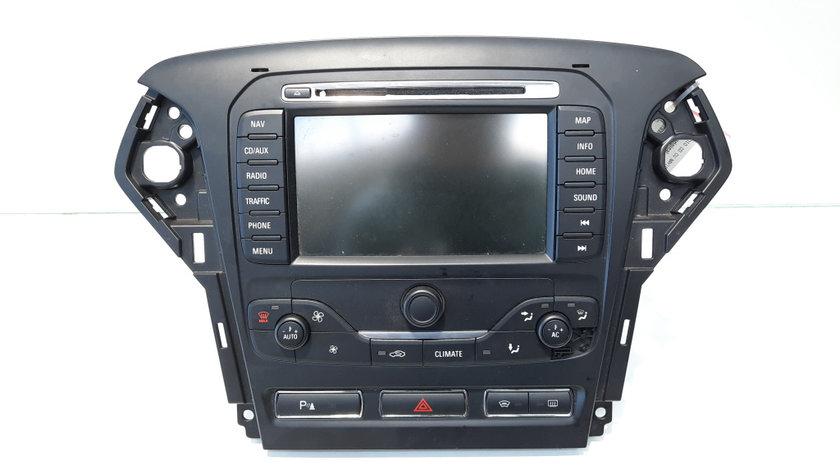 Radio CD cu navigatie, cod BS7T18K931EB, 7612330791, Ford Mondeo 4 (id:448428)