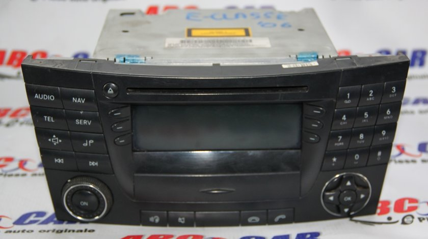Radio CD cu Navigatie Mercedes E-CLASS W211 cod: A2118704589001 model 2006