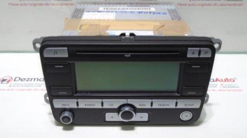 Radio cd cu navigatie mica, 1K0035191D, Vw Passat Variant