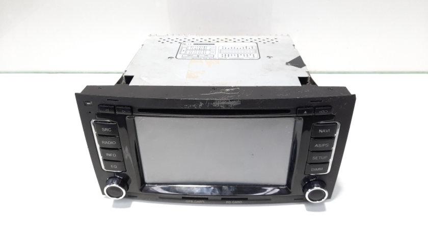 Radio CD cu navigatie, MP3, loc SD card si GPS card, Vw Touareg (7LA, 7L6) (id:476670)