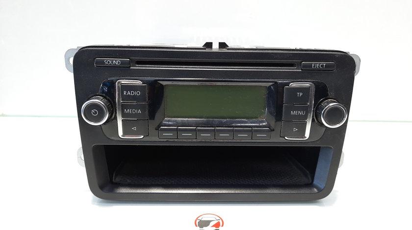 Radio cd cu sertar, Vw Golf 6 Cabriolet (517) [Fabr 2011-2015] 1K0035156A