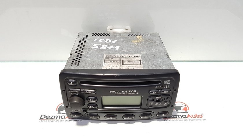 Radio cd, Ford Focus 1 Sedan, cod YS4F-18C815-AD (id:368184)