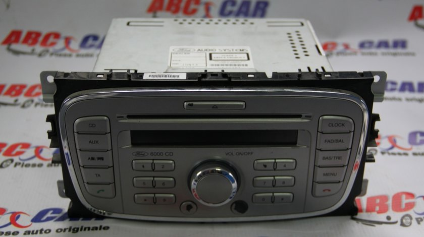 Radio CD Ford Focus 2 cod: 8M5T18C815AB / 10R023539 model 2006