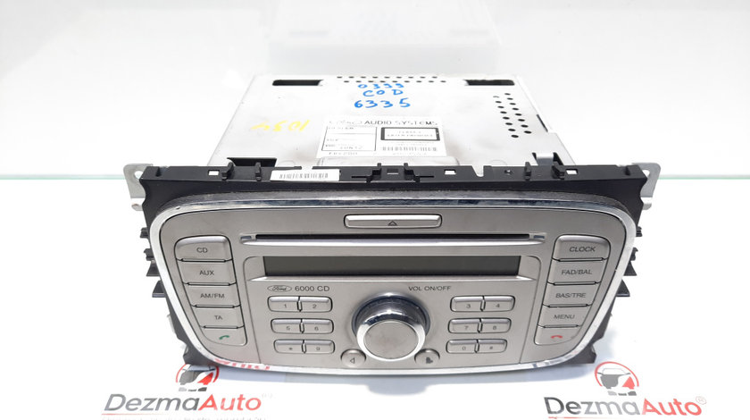 Radio cd, Ford Mondeo 4 [Fabr 2007-2015] 7S7T-18C815-AB (id:445431)