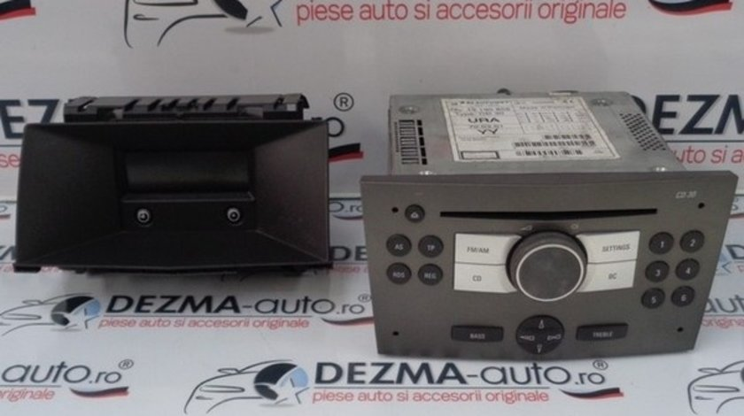 Radio cd, GM13190856, Opel Astra H sedan, 2007-2011