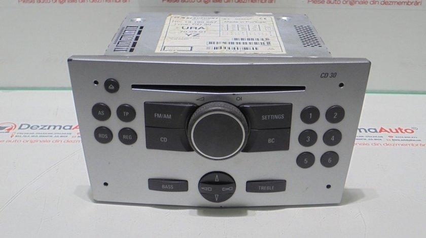 Radio cd, GM13190857, Opel Astra H (id:289795)
